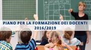 Piano Triennale di Formazione dei Docenti - 2016/2019